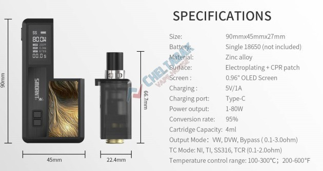 Набор Smoant Knight 80