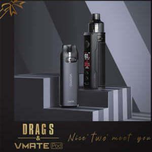 Набор Voopoo Drag S + Vmate
