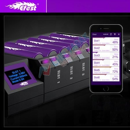 Зарядное устройство Efest Blu 6