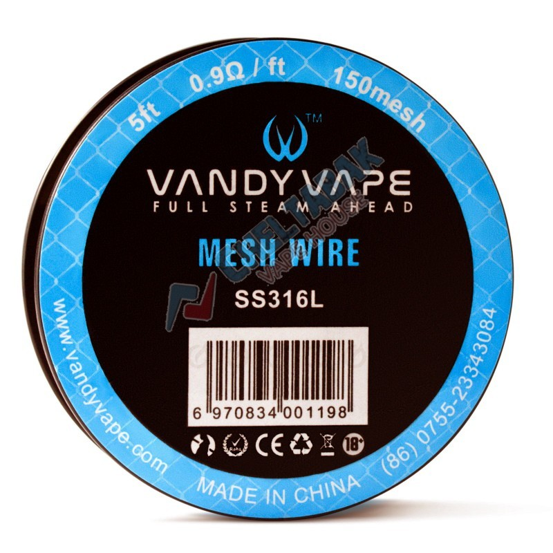 Сетка из нержи Vandy Vape Mesh Wire